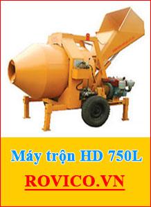 Máy Trộn Bê Tông HD750L